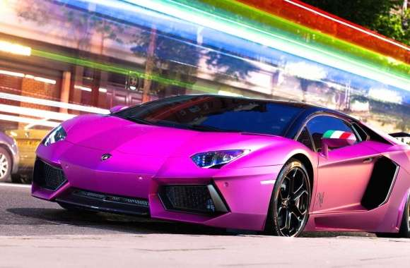 Lamborghini aventador pink wallpapers hd quality