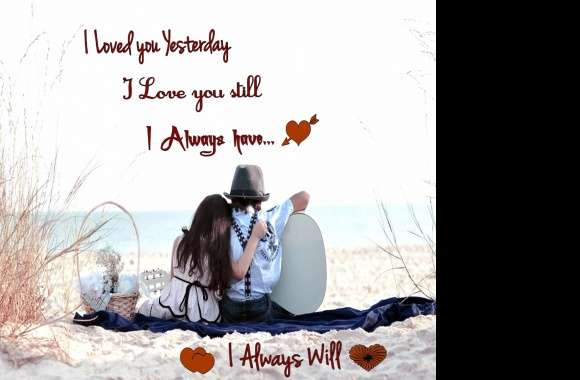 Love Always wallpapers hd quality