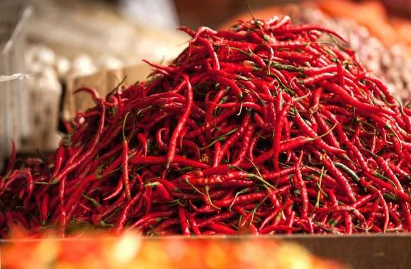 Many hot peppers wallpapers hd quality