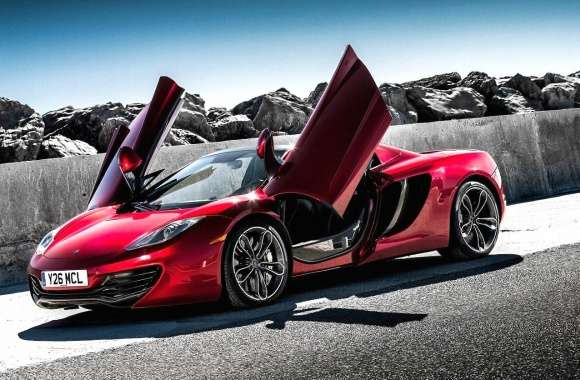 Mclaren mp4 12c spider wallpapers hd quality