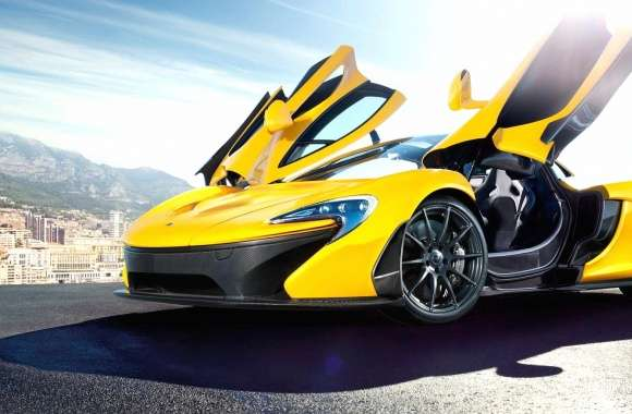 Mclaren p1 yellow wallpapers hd quality