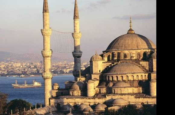 Mosque sofia istanbul turkey wallpapers hd quality