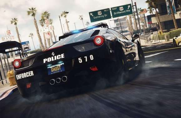 Need For Speed Rivals Police Pursuit