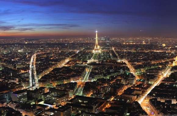 Paris from sky landscape wallpapers hd quality