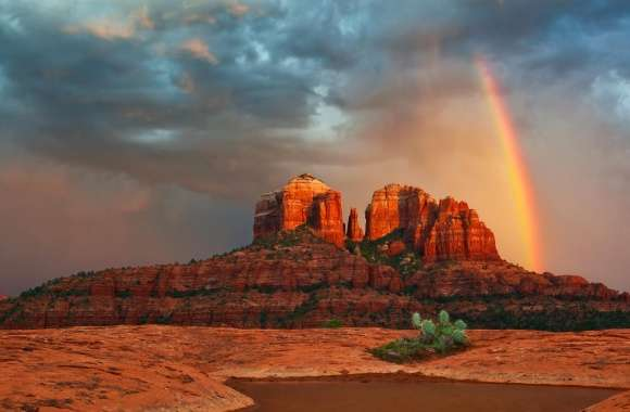 Rainbow In Arizona