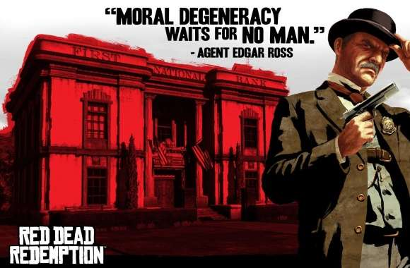 Red Dead Redemption, Agent Edgar Ross