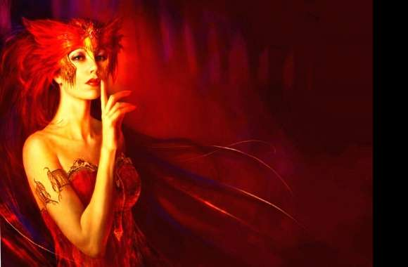 Red fantasy wallpapers hd quality
