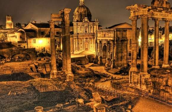 Rome ruines italy wallpapers hd quality