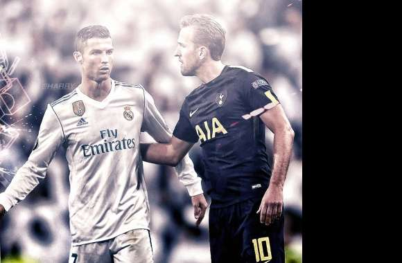 Ronaldo and Kane wallpapers hd quality