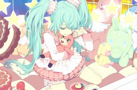 Sad Hatsune Miku - Vocaloid wallpapers hd quality