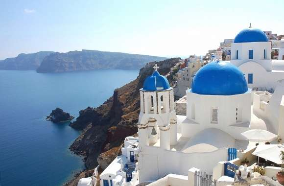 Santorini greece wallpapers hd quality