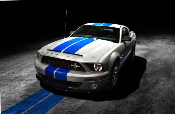 Shelby Mustang GT500KR front side view wallpapers hd quality