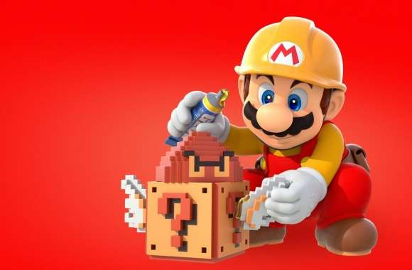 Super Mario Maker Game 2015