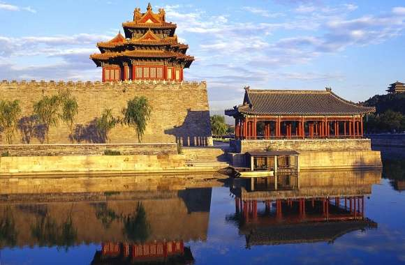 Temples in Beijing wallpapers hd quality