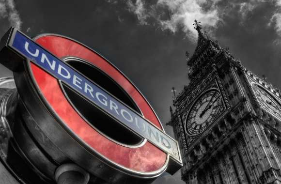 Underground and big ben london wallpapers hd quality