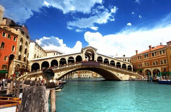 Venice rialto bridge wallpapers hd quality