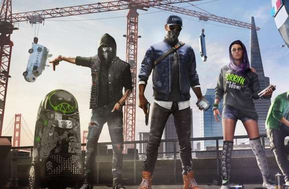 Watch Dogs 2 Marcus Sitara Wrench