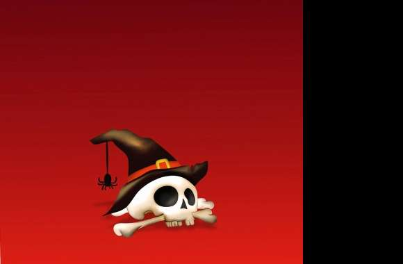 Witch Skull wallpapers hd quality