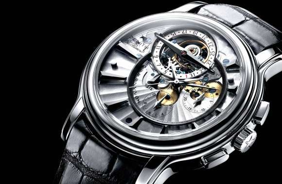 Zenith silver watch wallpapers hd quality