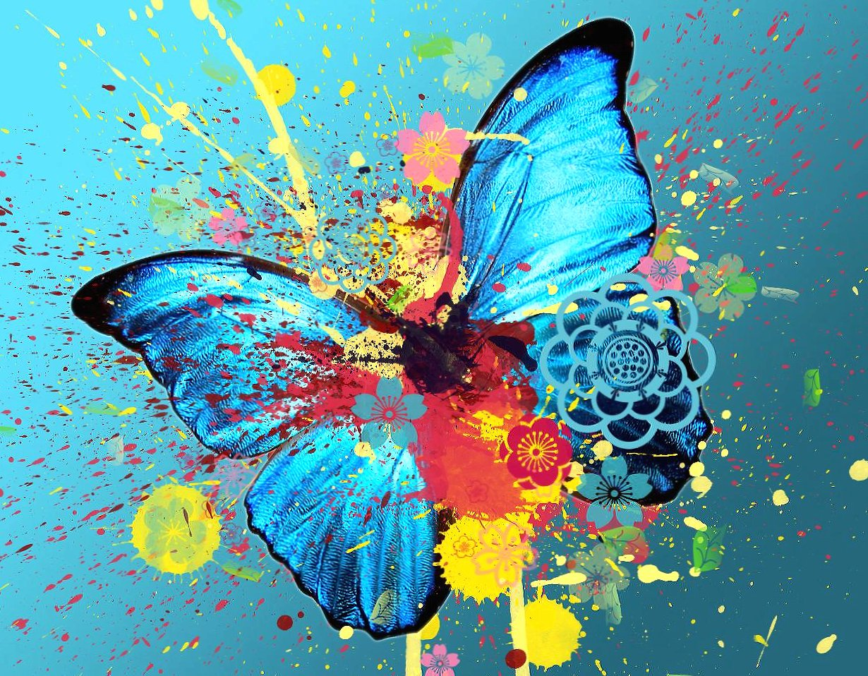 Abstract butterfly wallpapers HD quality
