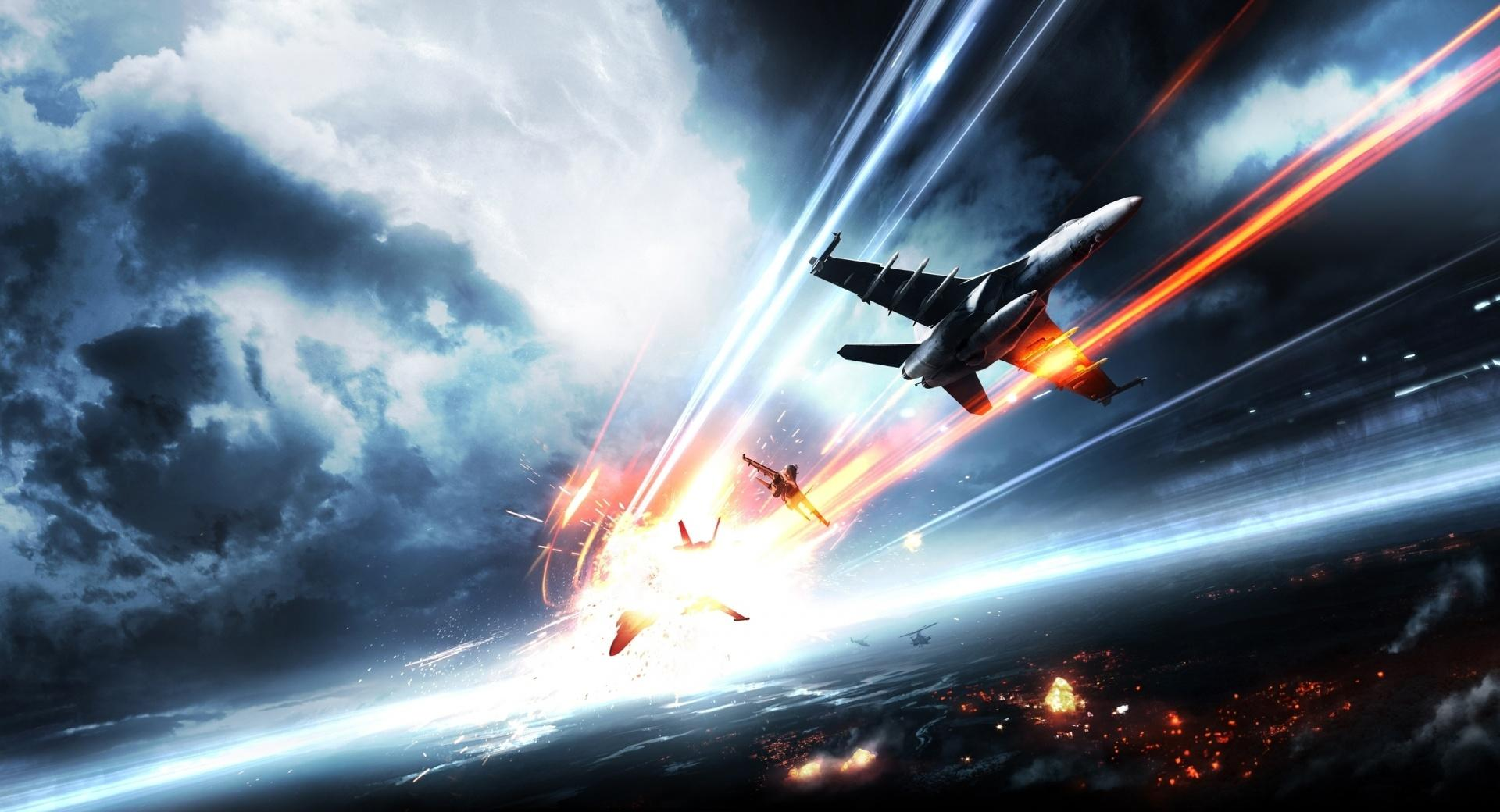 Battlefield 3 - Aircrafts at 640 x 1136 iPhone 5 size wallpapers HD quality