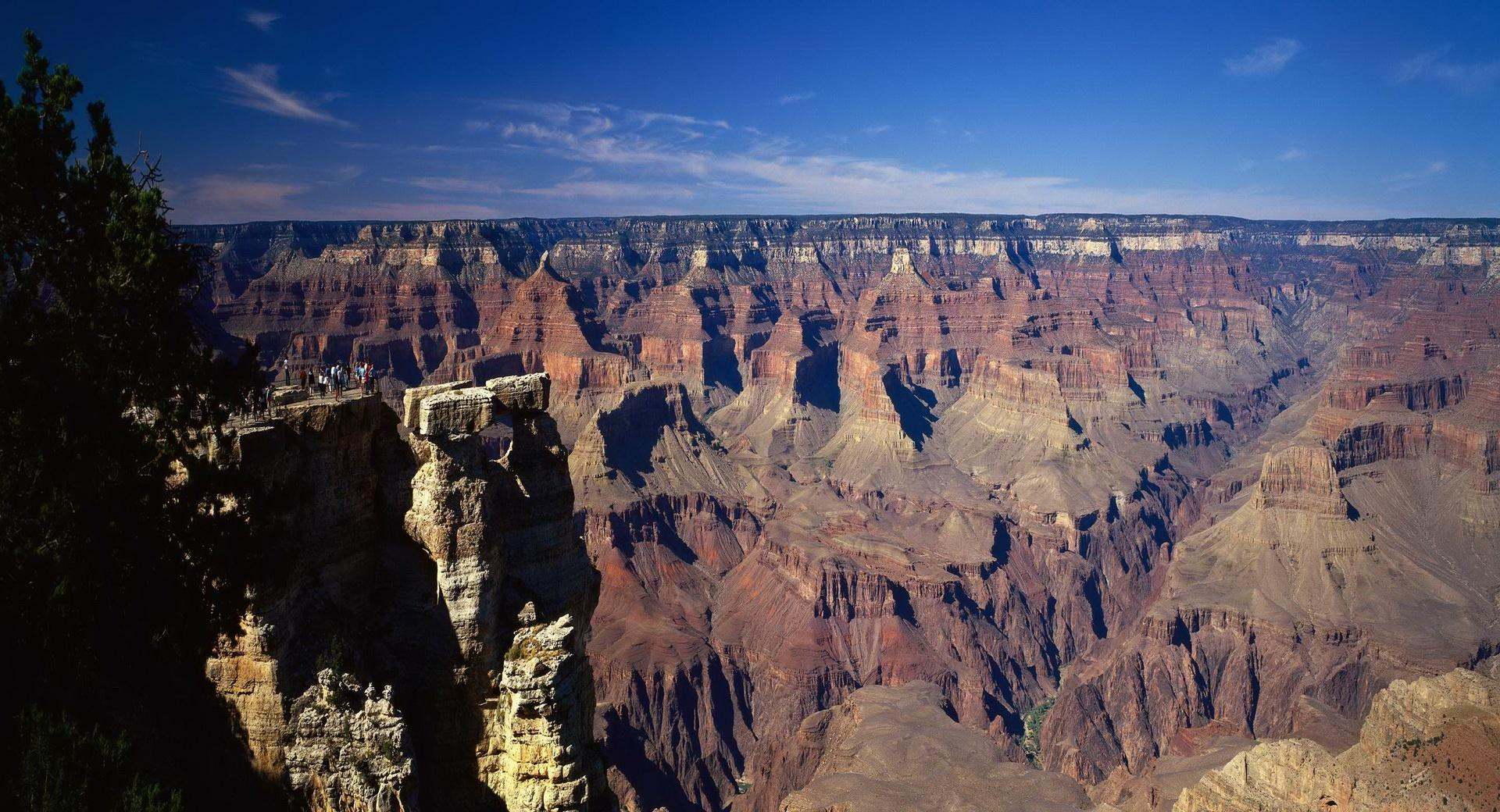 Canyon Panoramic View wallpapers HD quality