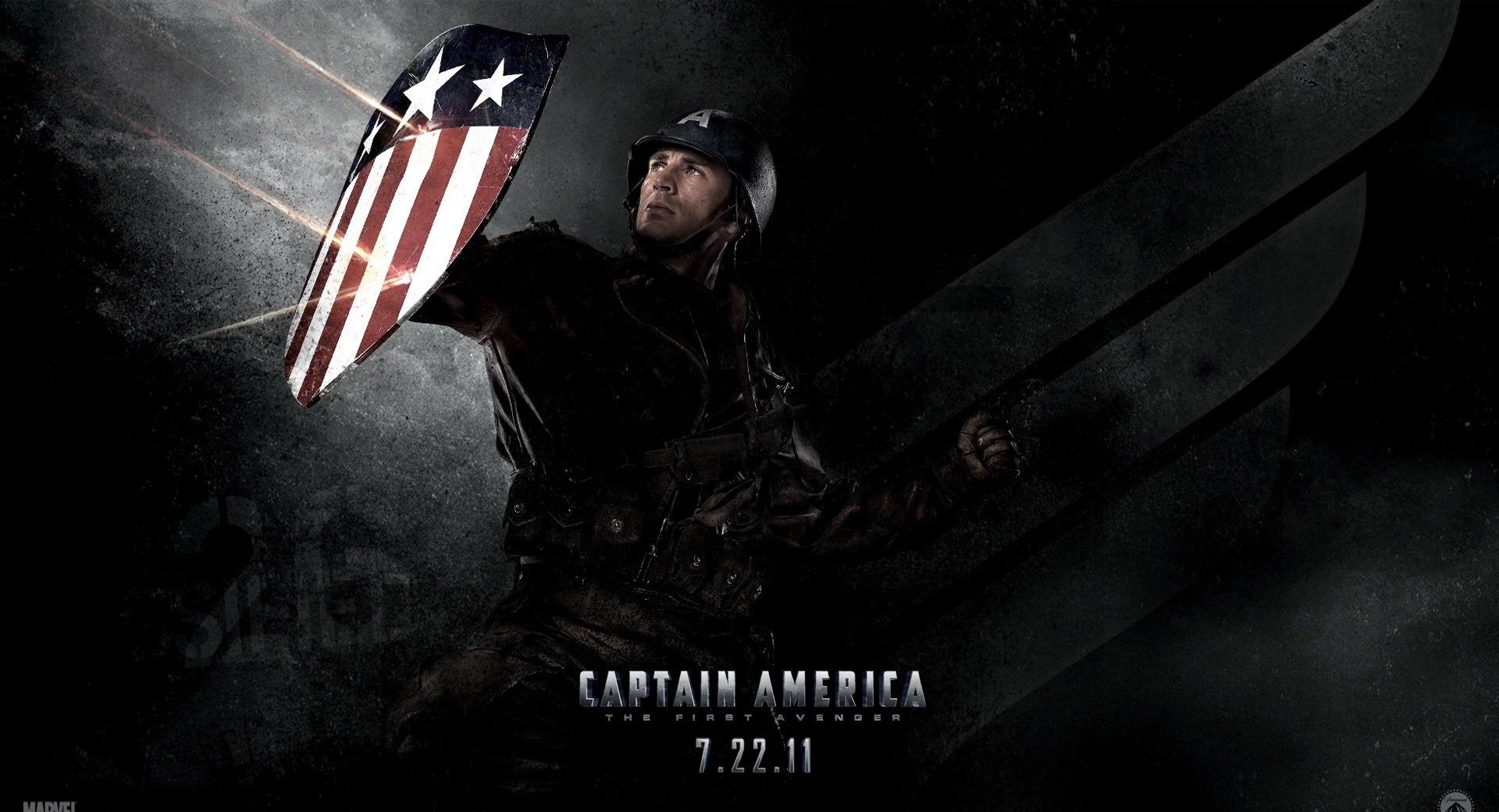 Captain America 2011 - Shield wallpapers HD quality