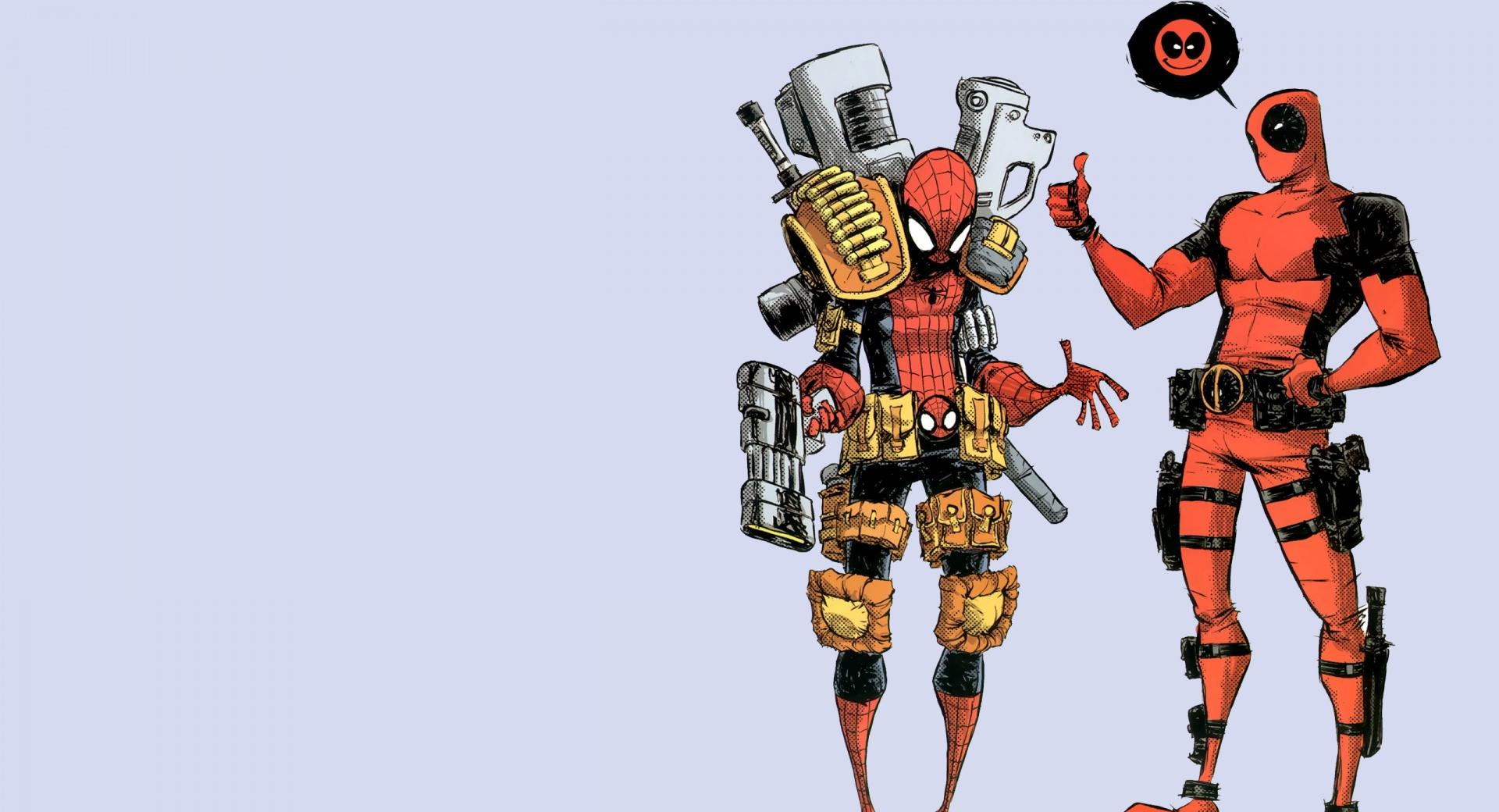 Deadpool And Spiderman wallpapers HD quality