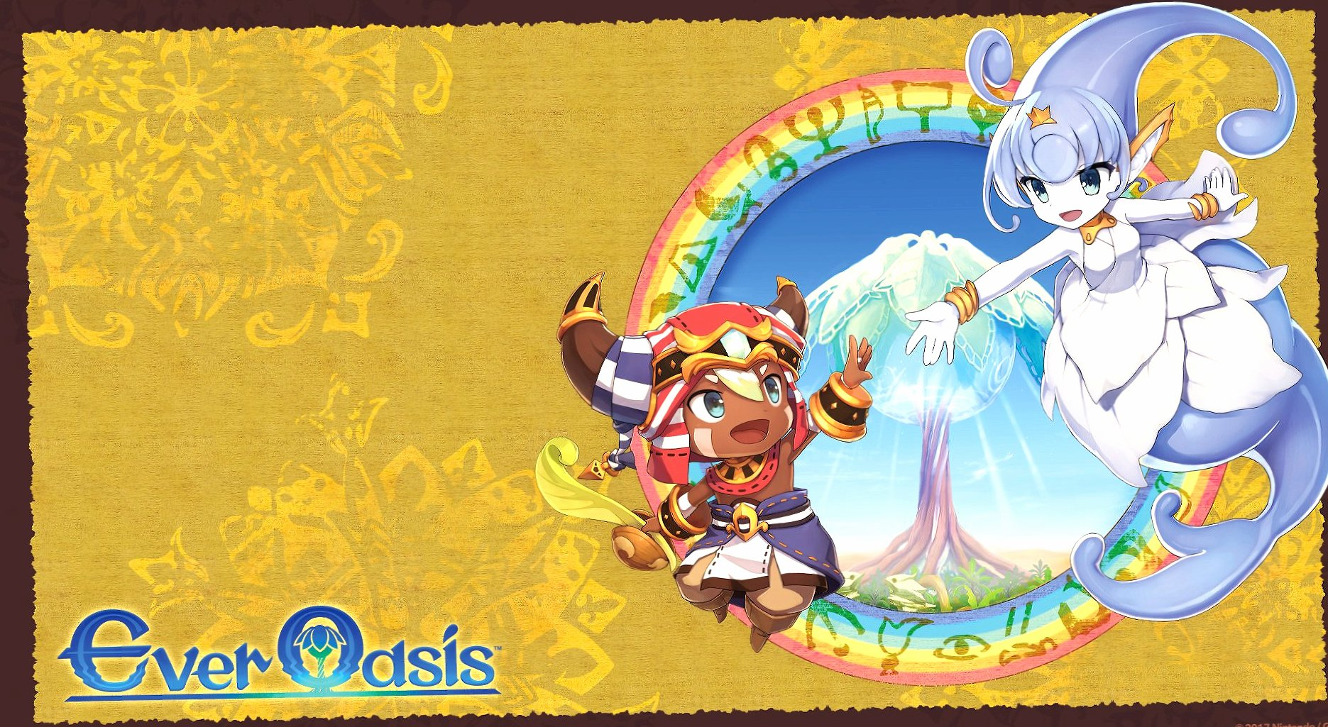 Ever Oasis at 640 x 960 iPhone 4 size wallpapers HD quality