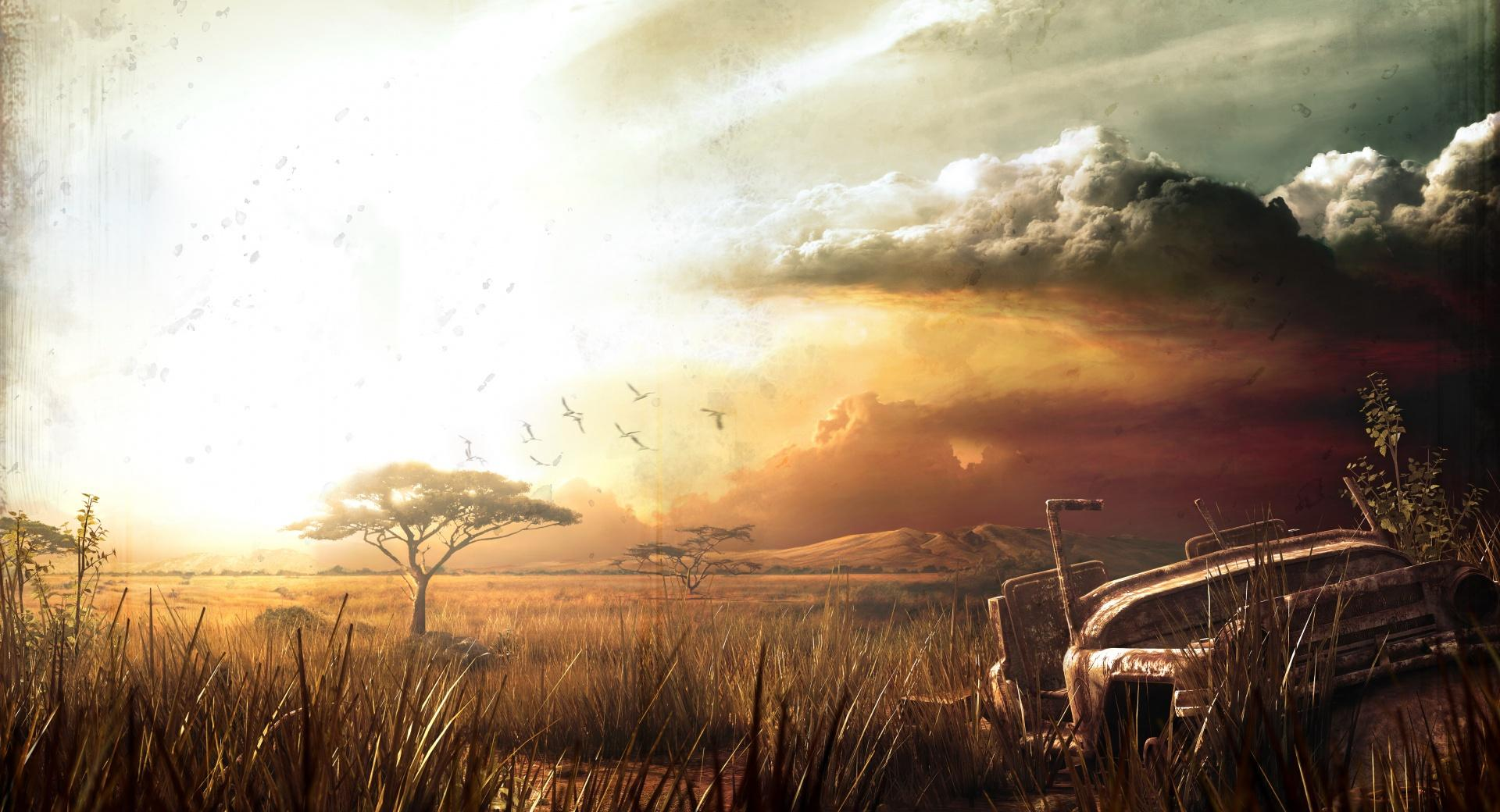 Far Cry 2 Landscape wallpapers HD quality