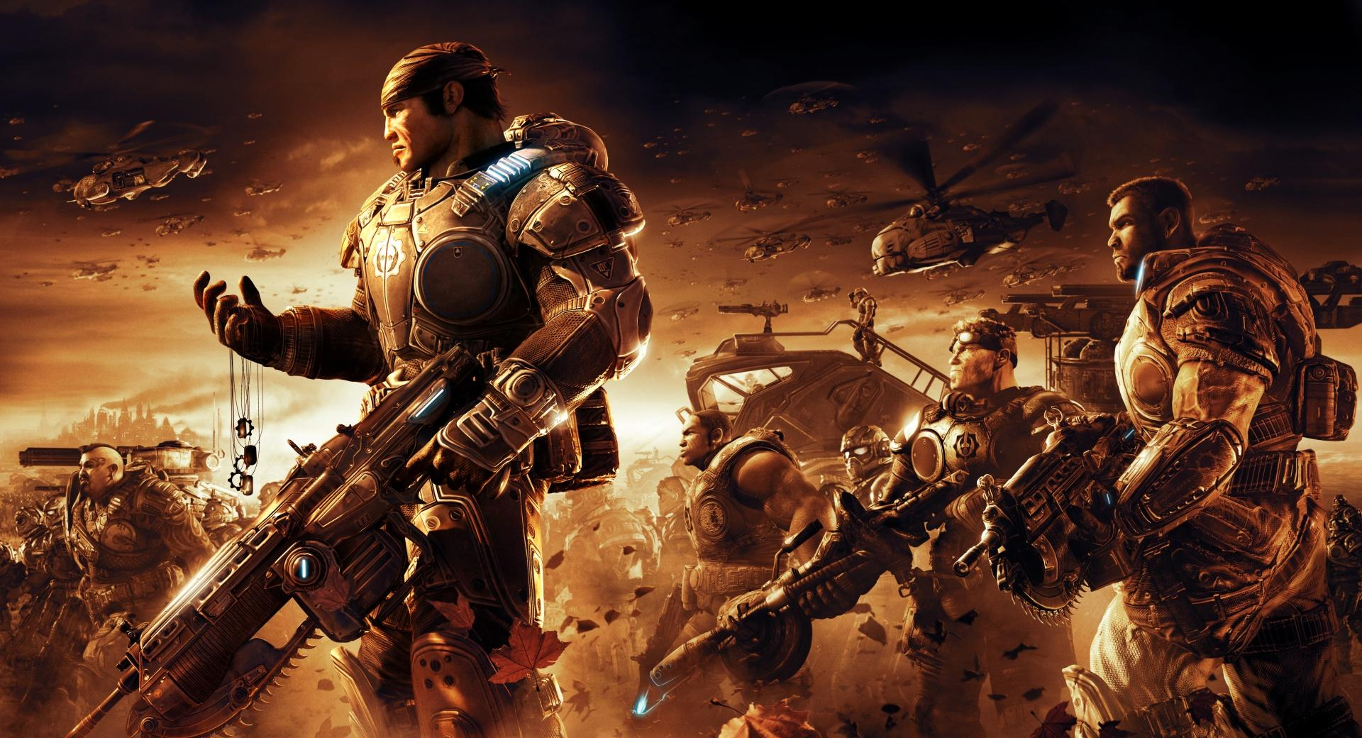 Gears Of War Game Battle wallpapers HD quality