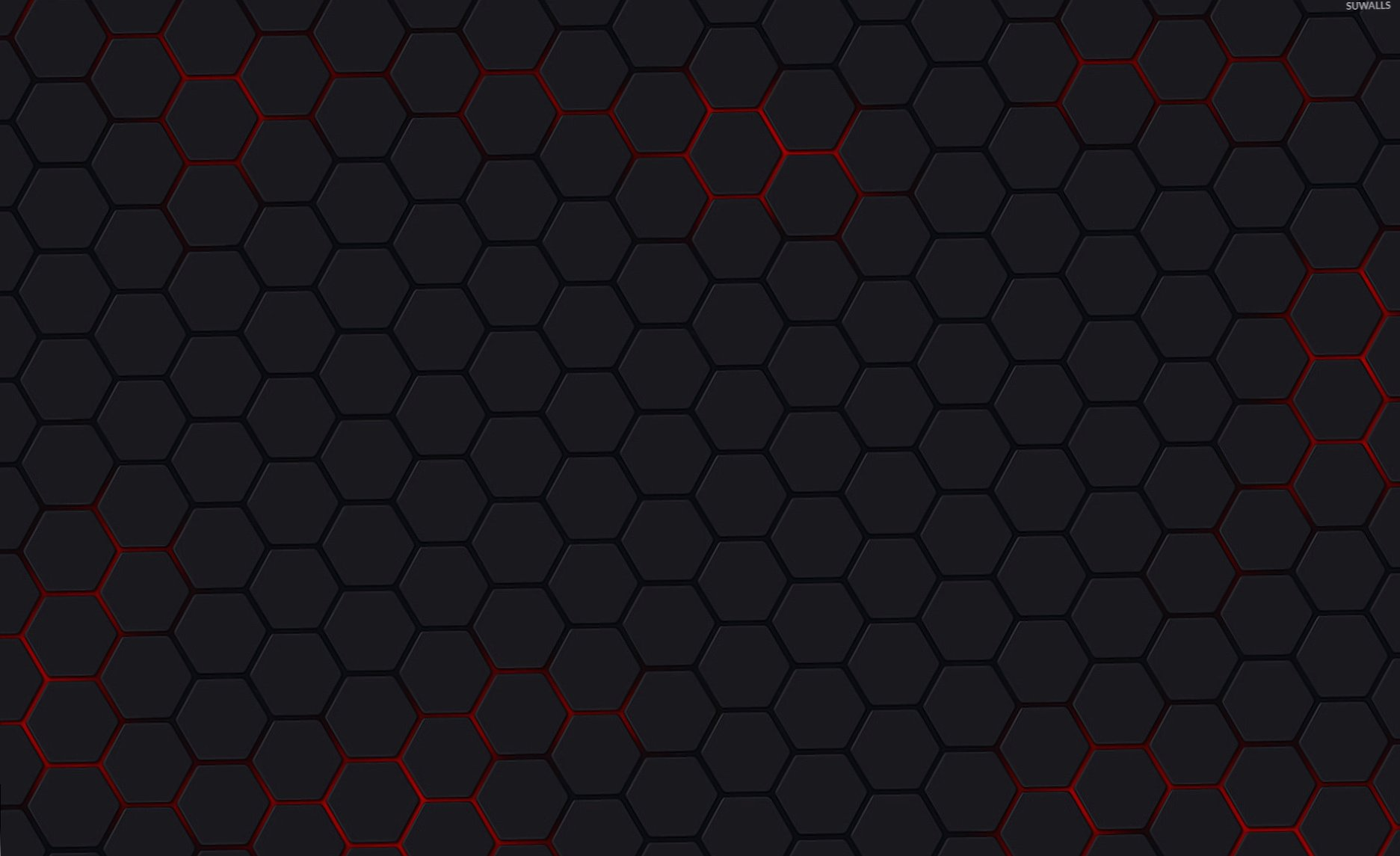 Gray hexagons wallpapers HD quality