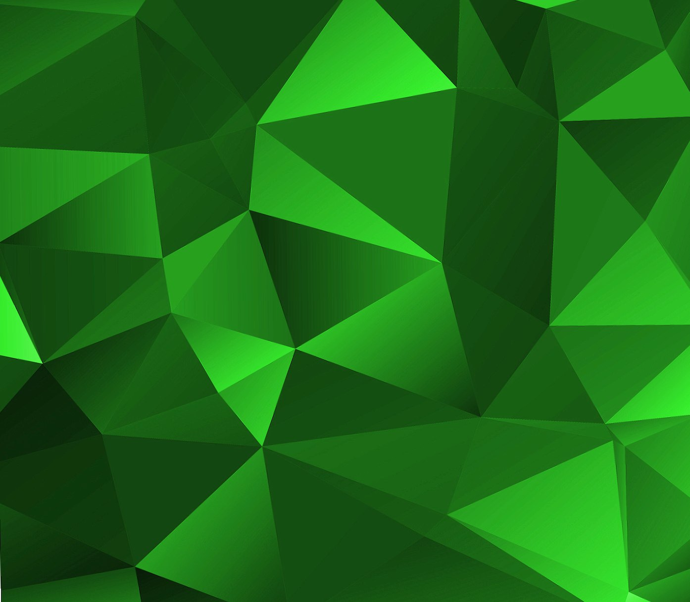 Green Polygon wallpapers HD quality