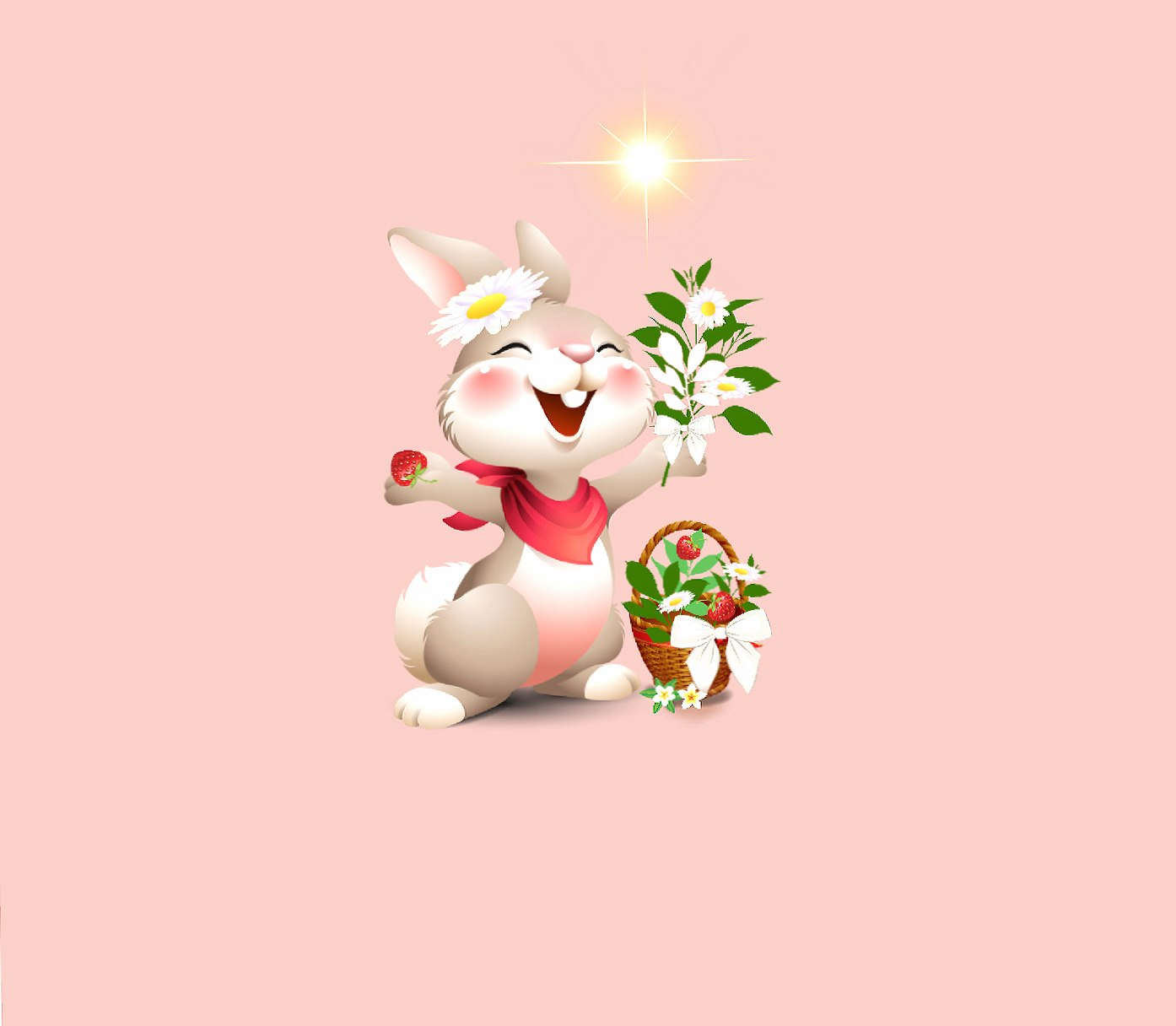 Happy Rabbit 2 wallpapers HD quality