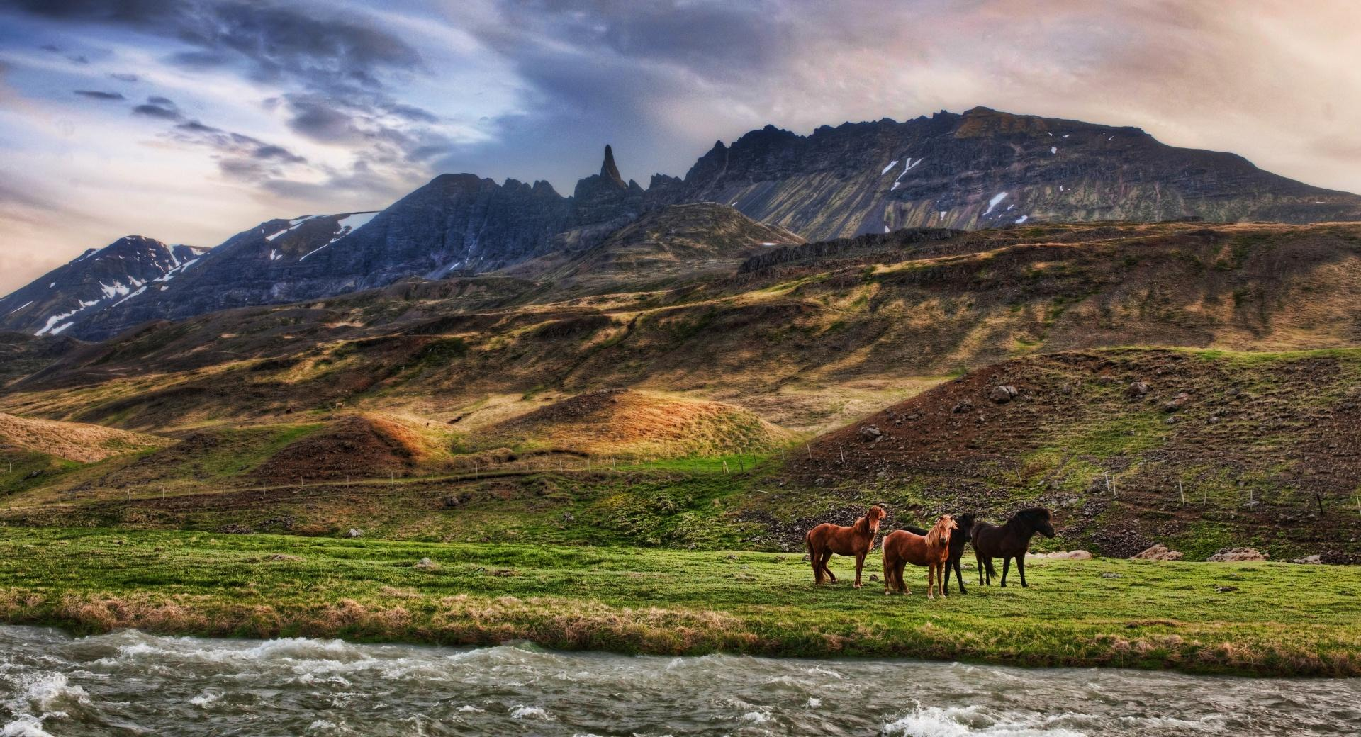 Landscape In Iceland wallpapers HD quality