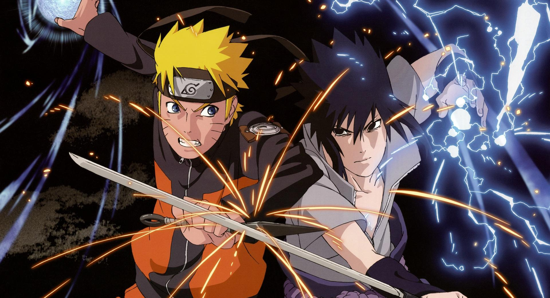 Naruto vs. Sasuke wallpapers HD quality