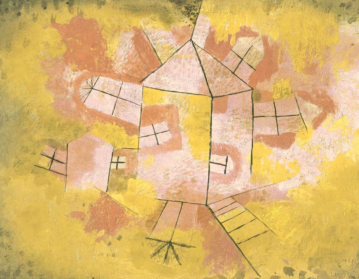 Paul klee revolving house wallpapers HD quality
