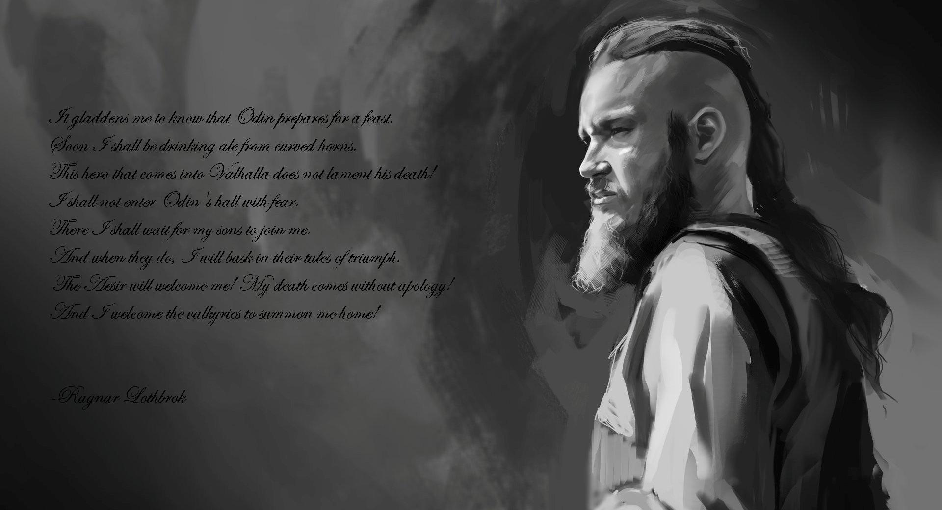 Ragnar - last words wallpapers HD quality