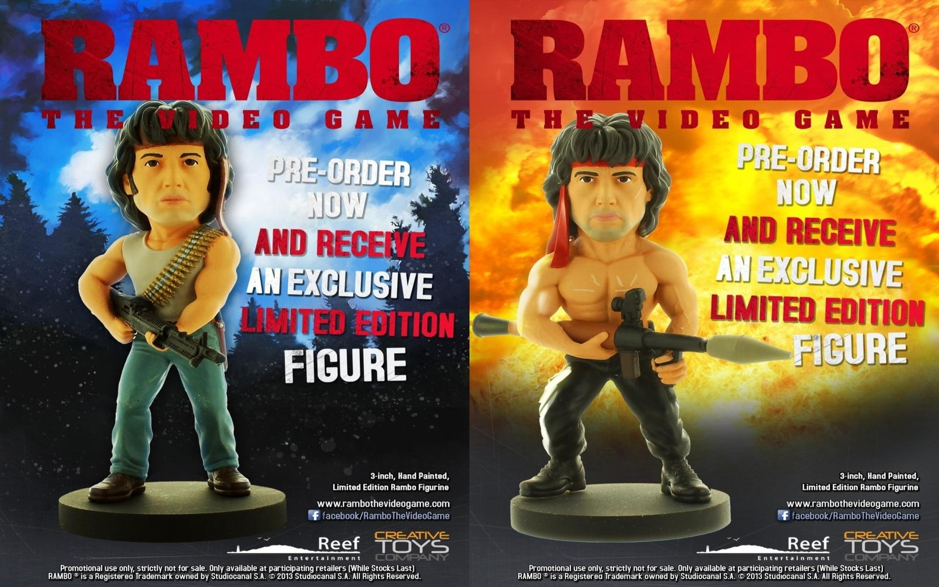 Rambo The Video Game wallpapers HD quality