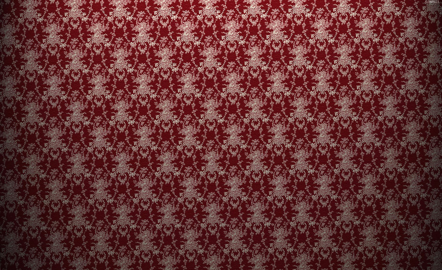 Red vintage pattern wallpapers HD quality