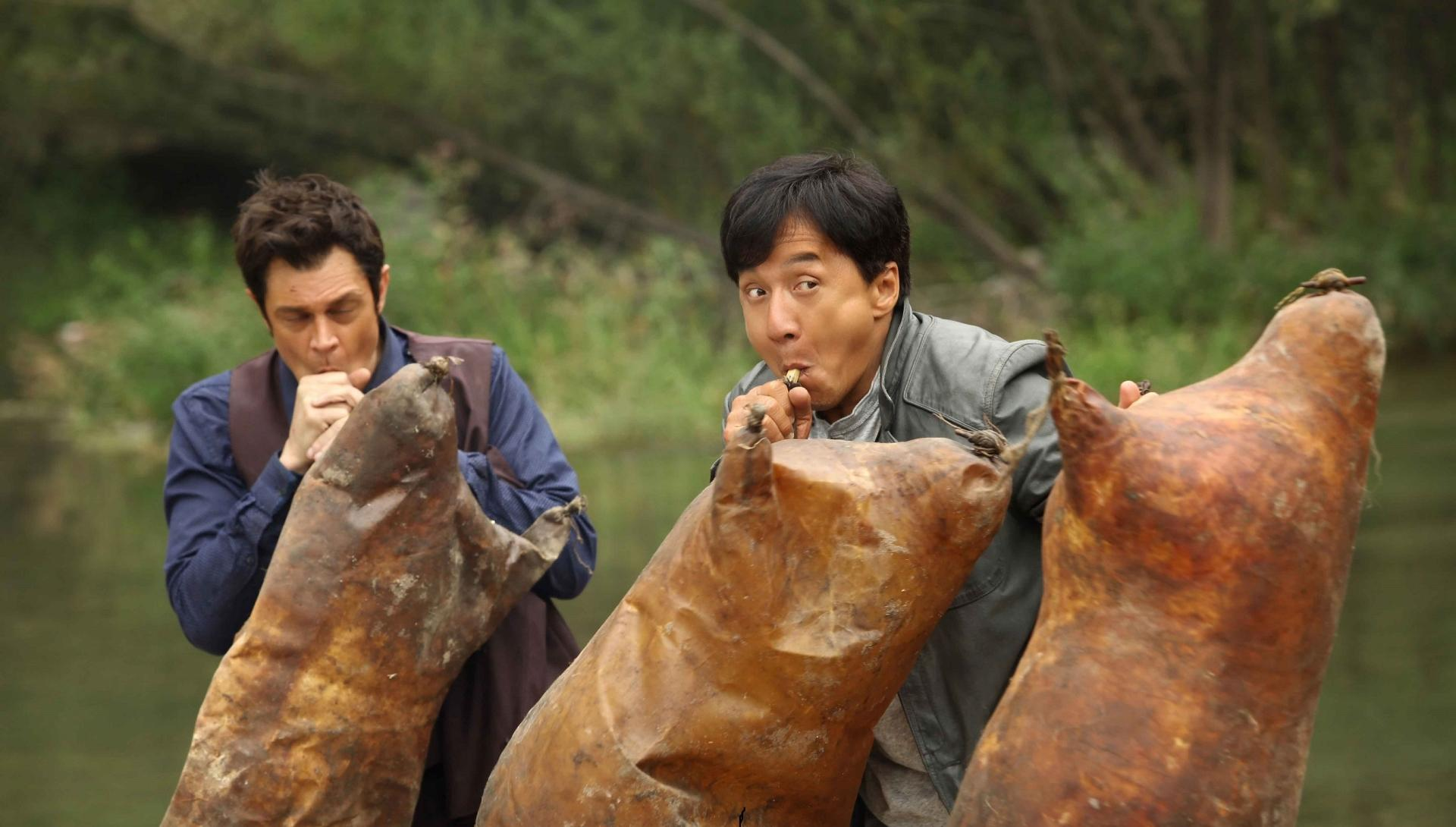 Skiptrace (2016) wallpapers HD quality