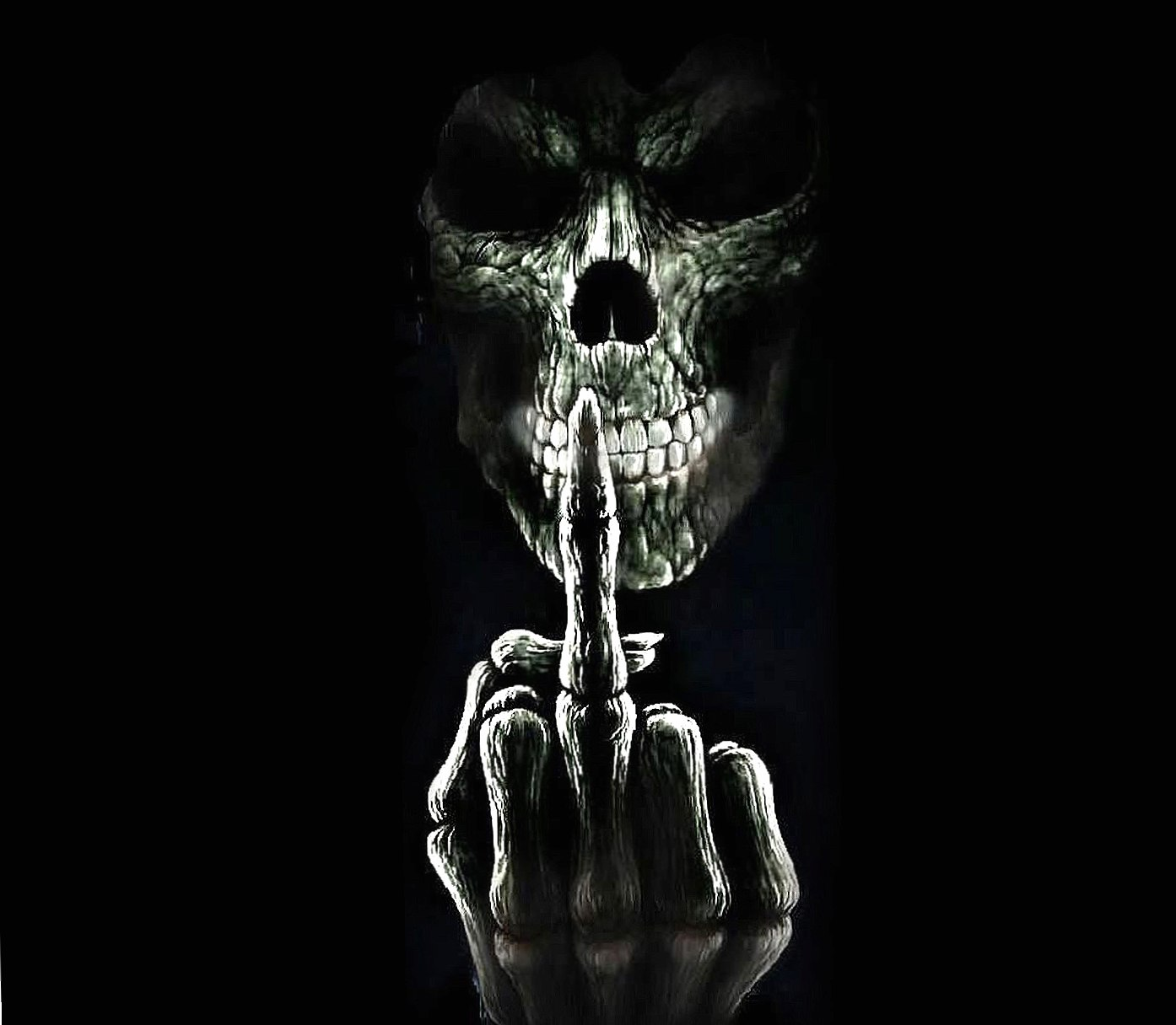 Skull Angry wallpapers HD quality