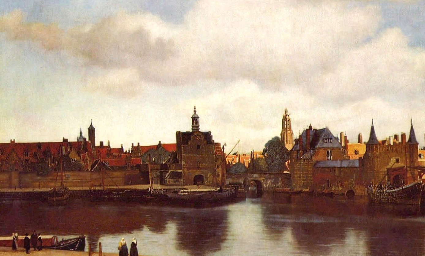 Vermeer view of delft wallpapers HD quality