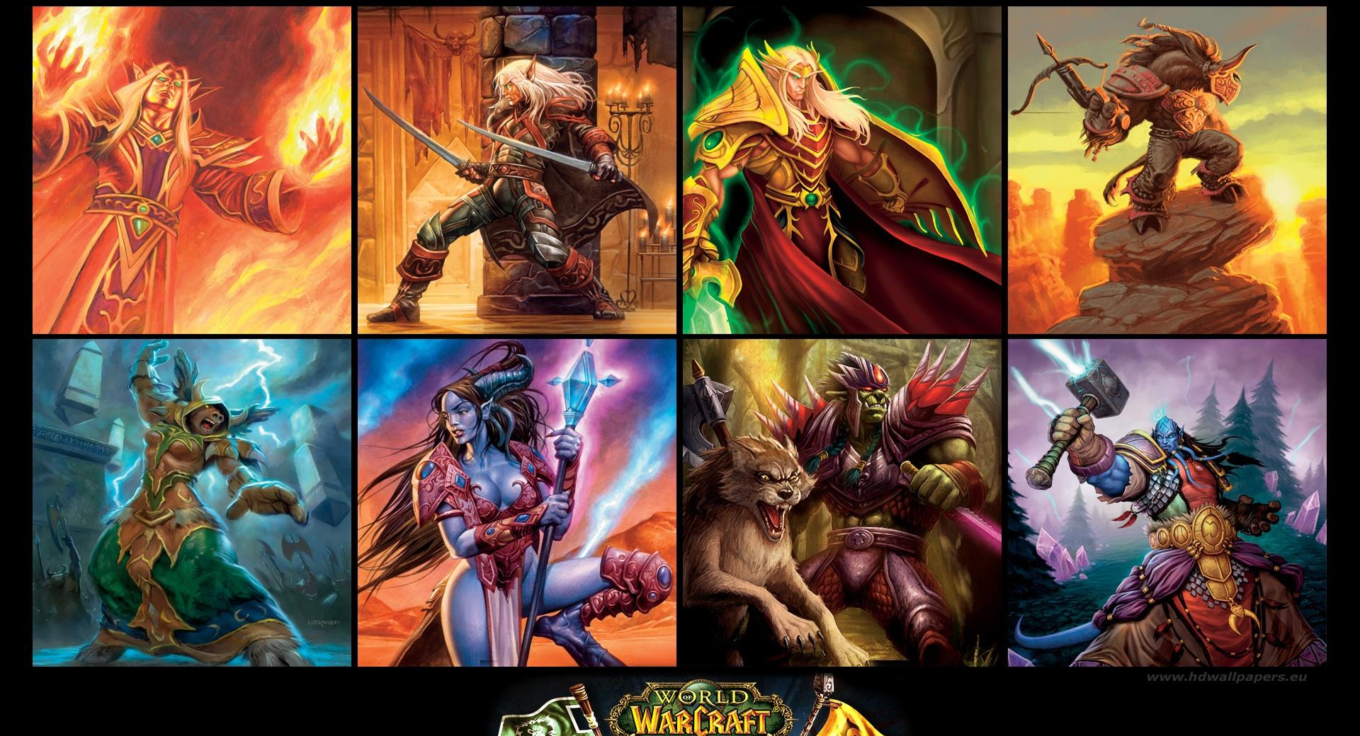 World of Warcraft, The Burning Crusade at 320 x 480 iPhone size wallpapers HD quality