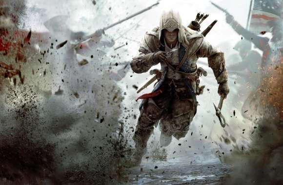 Assassins Creed 3 Connor Free Running wallpapers hd quality