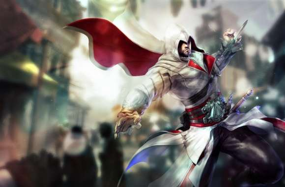 Assassins Creed Ezio Drawing wallpapers hd quality