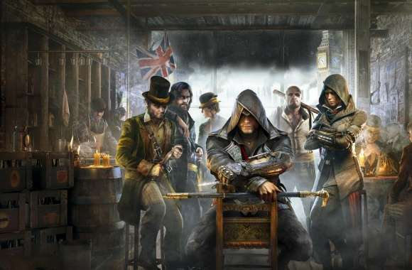 Assassins Creed Syndicate 2015 video Game wallpapers hd quality