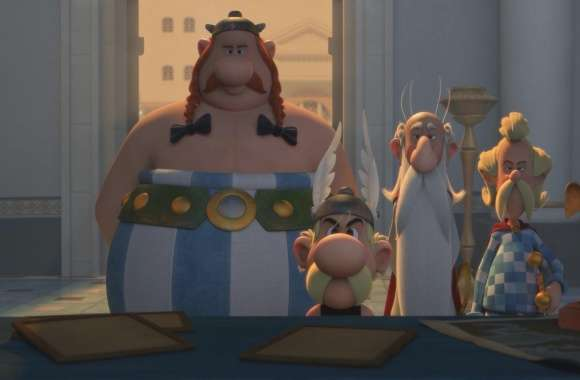 Asterix The Land Of The Gods wallpapers hd quality
