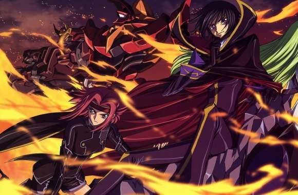 Code Geass Lelouch of the Rebellion wallpapers hd quality