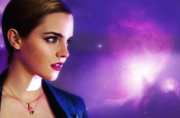 Emma Watson in Lancome wallpapers hd quality